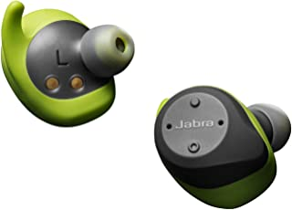 Jabra Elite Sport Water Proof True Wireless with Heart Rate & Activity Tracker Earbuds - Lime Green