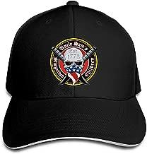 Uncle Sam's Misguided Children Adult Cap Unisex Solid Color Duck Tongue Hop Adjustable Baseball Cap Black