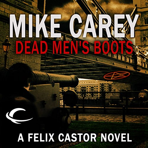 Dead Men's Boots audiobook cover art