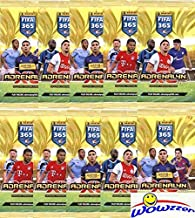 2021 Panini Adrenalyn XL FIFA 365 Soccer Collection of TEN(10) Factory Sealed Booster Packs with 60 Cards! Look for Stars ...
