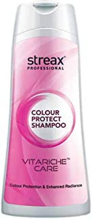 Streax Professional Vitariche Care Colour Protect Shampoo, 250 ml