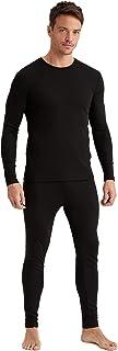 DeFacto Gebreide joggingbroek en thermo-ondergoed voor mannen, viscose 35% polyester 65%