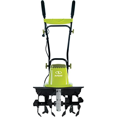 Sun Joe TJ603E 16-Inch 12-Amp Electric Tiller and Cultivator , Green