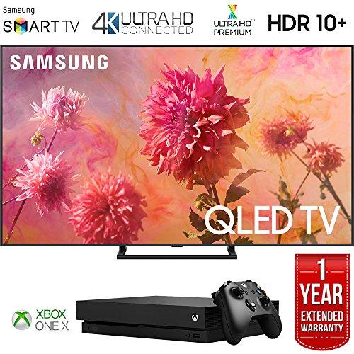 Samsung QN75Q9FNA 75' Q9FN QLED Smart 4K UHD TV (2018 Model) with Microsoft Xbox One X 1TB Console