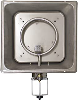Hiland Burner Fire Pit Burner Replacement DGH and GSF-DGHSS, Fitted, Stainless Steel