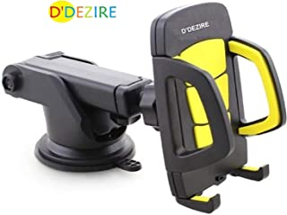 Phone Holder for Car , Adjustable Dashboard Car mount,360 Degrees Rotations Mobile Holder Stand with Extendable Arm & Strong Sticky Gel Pad Car Cradle for iphone,Oneplus,Redmi/MI,Vivo,Oppo,Moto,Samsung,Lenovo,Lumia for almost all SMART Phones.