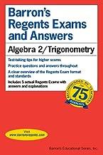 Regents Exams and Answers: Algebra 2/Trigonometry (Barron's Regents Exams and Answers Books)