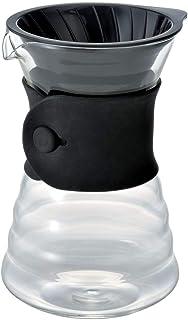 Hario V60 Drip Decanter Pourover Koffiezetter Voor 2-3 Kopjes, Doorzichtig