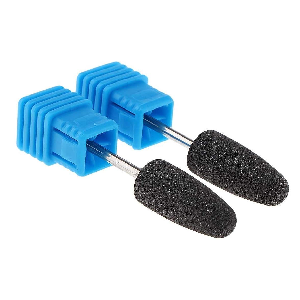 シェルターセンサーホース全6サイズ マニキュア ネイルアート 電気ネイルドリルビット 全2点 - X032
