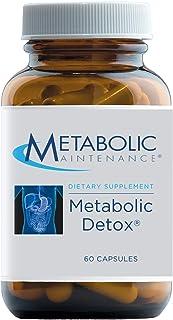 Metabolic Maintenance Metabolic Detox - Milk Thistle Silymarin, Alpha Lipoic Acid + NAC Supplement - Liver Cleanse + Gluta...