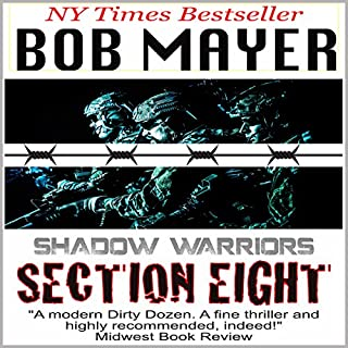 Section Eight (Shadow Warriors) cover art