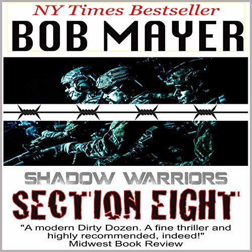 Section Eight (Shadow Warriors) audiobook cover art