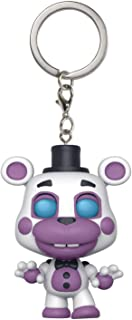 Funko Helpy: Five Nights at Freddy's x Pocket POP! Mini-Figural Keychain + 1 Official FNAF Trading Card Bundle [32157]