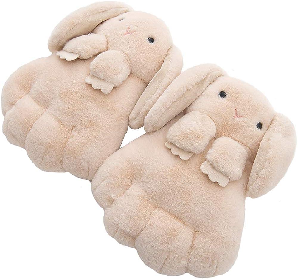 Xinqiao Cute Bunny Design Winter Thicken Mitten Cartoon Animal Gloves