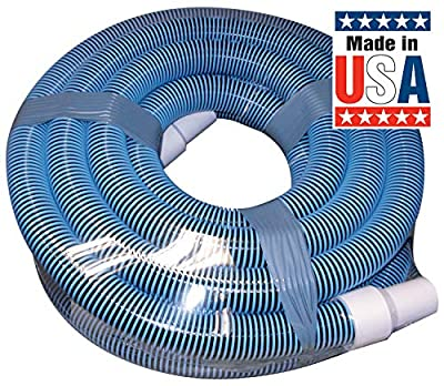 """Poolmaster Premium Pool Vacuum Hose with Swivel Cuff - available in lengths of 30, 35, 40, or 45 Feet"""""""