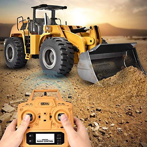 SOULONG Bulldozer RC Excavadora de Camión de Construcción, Juguete del Coche de...