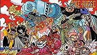 DLTYXME 1000ピースジグソーパズル大人のティーン向けギフトパズルゲーム-ワンピース:アニメキャラクターパズルポスター