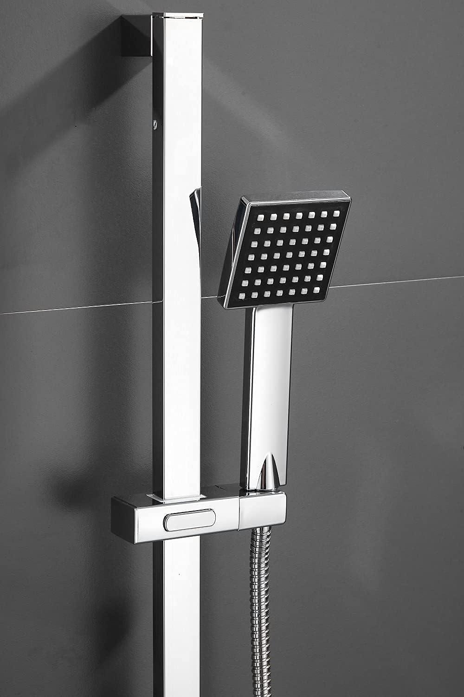 Bathroom Slider Rail Shower Riser Kit Hose Head Holder Adjus Bar Today's online shop only