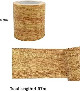 Martinimble Wood Grain Tape,Woodgrain Repair Tape Patch Wood Textured Furniture Adhesive Tape Strong Stickiness Waterproof(Skirting Repairs,Furniture Repairs,Cabinet Edges Banding,Floor Repairs)
