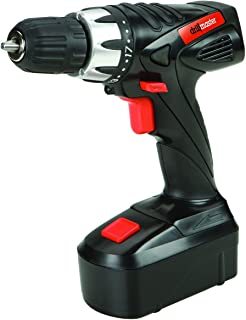 Drill Master 18 Volt 3/8 Cordless Drill with Keyless Chuck by