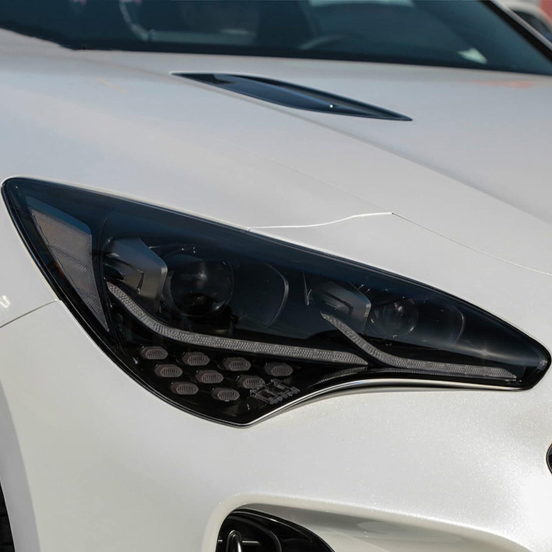 HLLebw Car Headlight Tint Black Transparent TPU Film Protective 爆売りセール開催中 40%OFFの激安セール