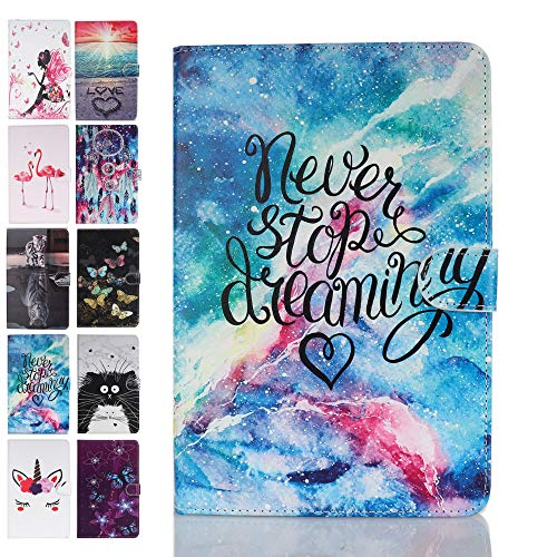 Ancase Tablet Case for Samsung Galaxy Tab S5e (2019) 10.5 Inch T720 T725 Cover Leather Wallet Folio Pattern Design Case Protective with Card Slots - Starry Sky