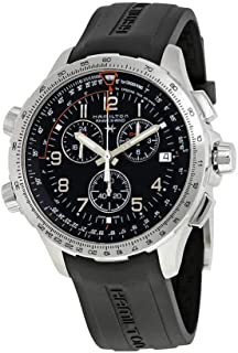 Hamilton Mens Khaki X-Wind GMT - H77912335