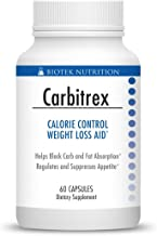 Carbitrex by Biotek Nutrition – Weight Loss Aid Diet Pill Blocks The Absorption of Carbs and Fats