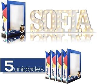 Original Color 26 Alfabeto Madera Letras para ombre Para ni/ños Cumplea/ños Fiesta Boda Casa Decoraci/ón y Cuarto K Gspirit Decorativo De madera Letras