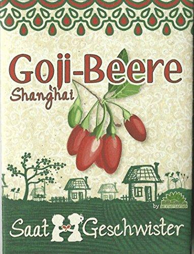 Die Stadtgärtner Goji-Beere-Saatgut | Vitaminbombe aus Fernost | Samen mit hoher Keimrate