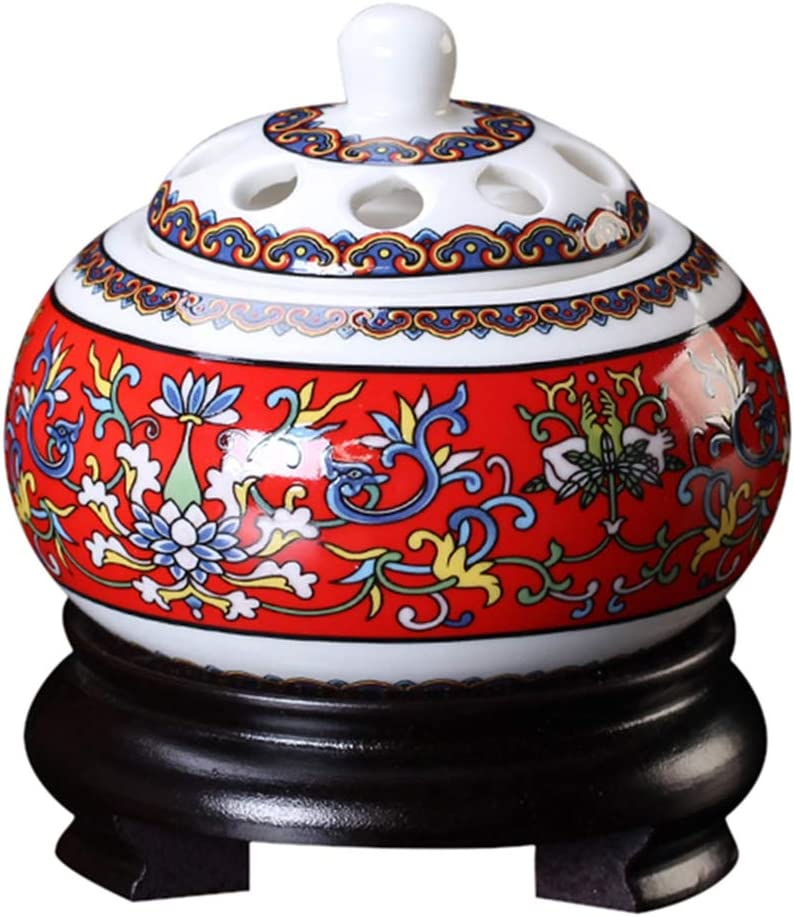 SYTH Max 46% OFF Ceramic Incense New York Mall Burners Towers Essential Diffus Oils Holder