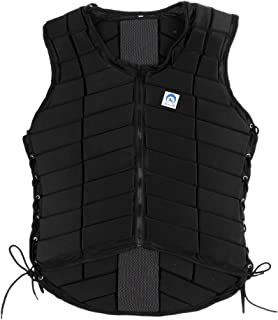 MonkeyJack Safety EVA Padded Breathable Horse Riding Equestrian Vest Protective Gear Body Protector Guard Shock Absorption Waistcoat - Kids Adult