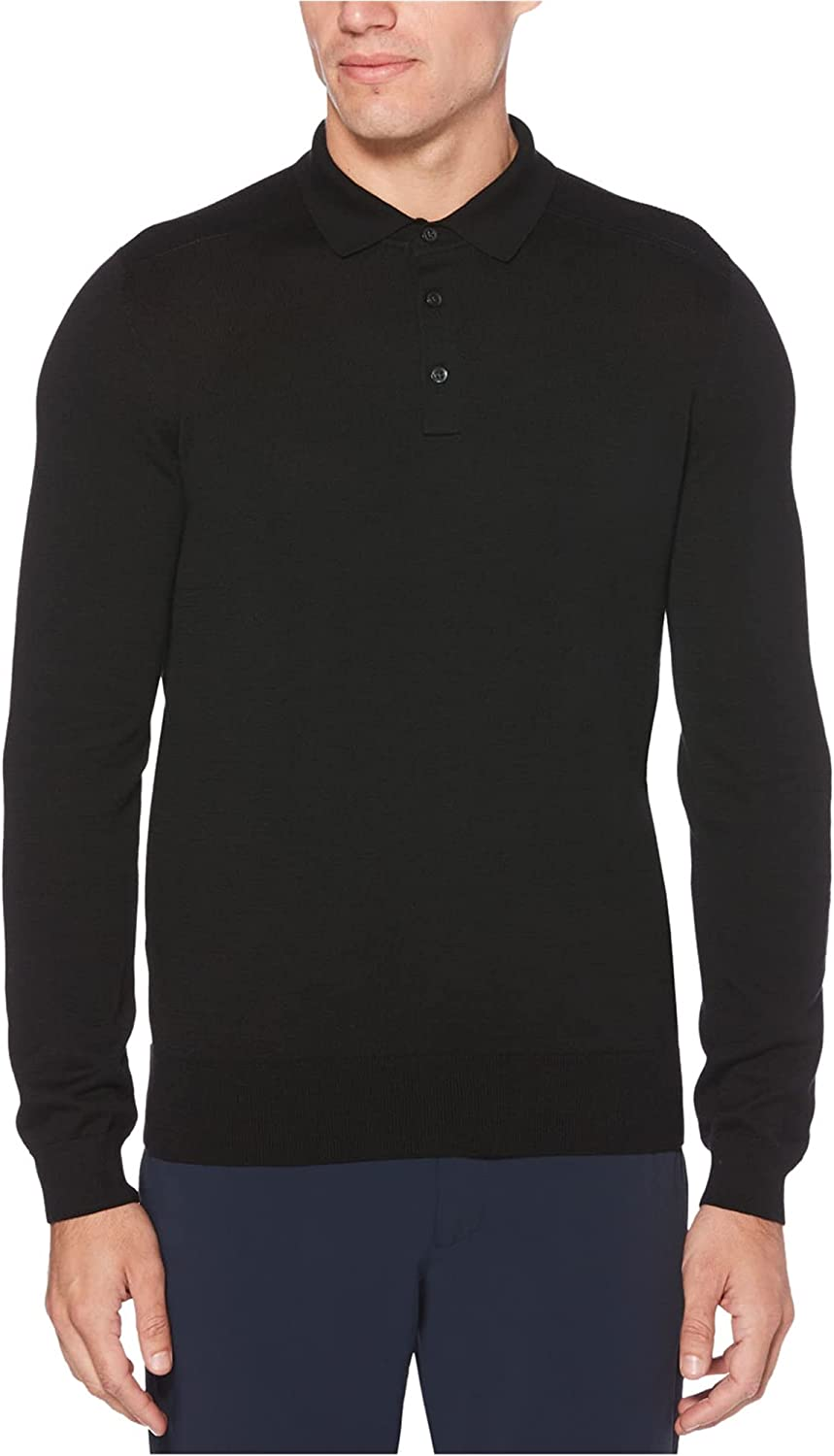 Perry Ranking TOP14 Ellis Mens Solid Max 63% OFF Sweater Polo