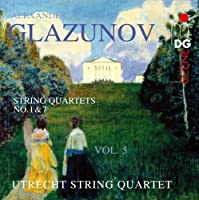String Quartets 5 by GLAZUNOV (2012-03-26)