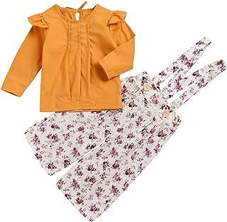 Best toddler girl ruffle shirt Reviews