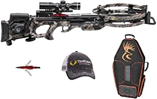 Tenpoint Stealth Nxt Crossbow Package with Rangemaster Pro Scope, Acudraw Pro, Broadheads, Hat, and Case