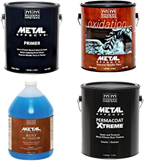 Modern Masters Metal Effects Iron Paint & Rust Activator Kit (Gallon)