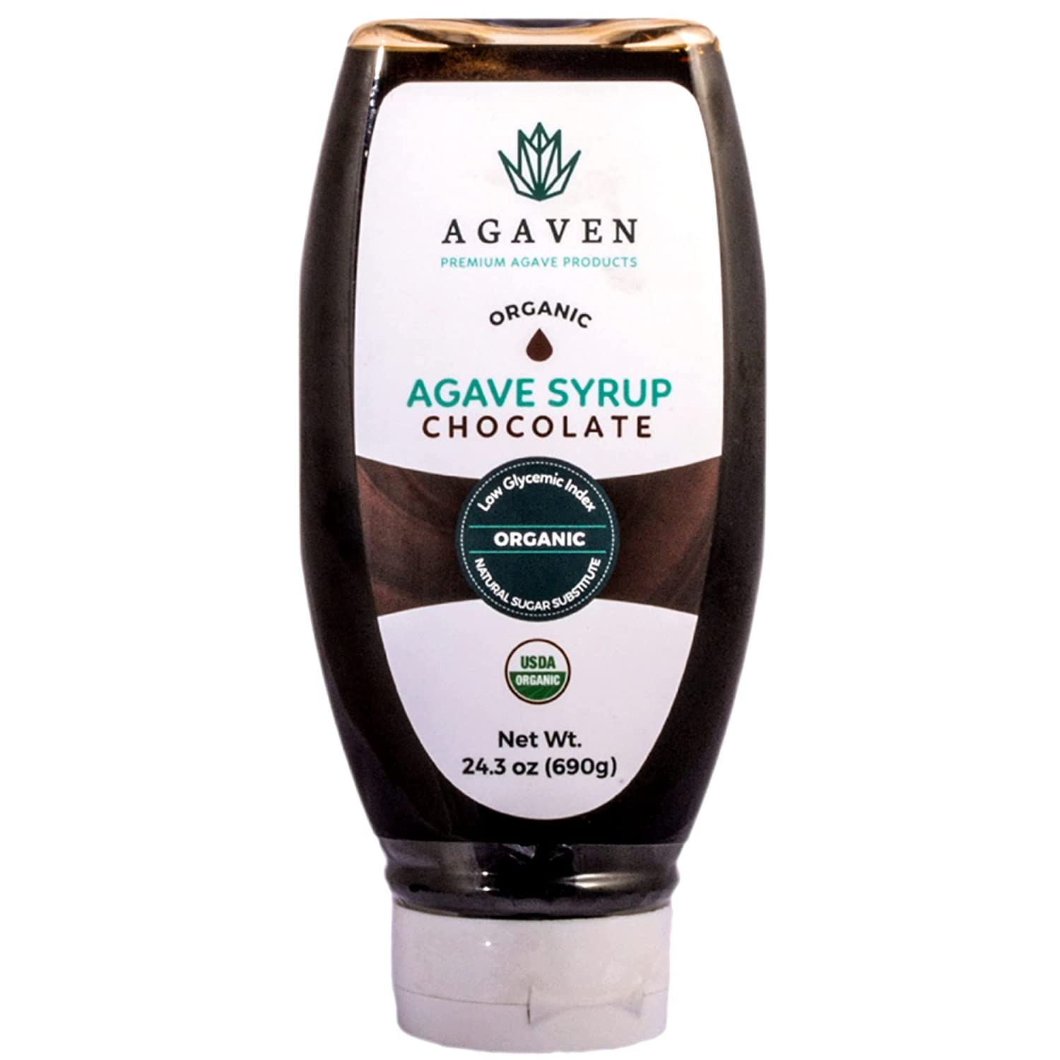 Chocolate Syrup By AGAVEN Vegan Nectar Tampa Mall Price reduction Blue Agave Cho Sweetener
