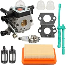 Carburetor for Stihl MM55 MM55C Tiller 4601-120-0600 Replace Zama C1Q-S202A Carb with Replacement Kit