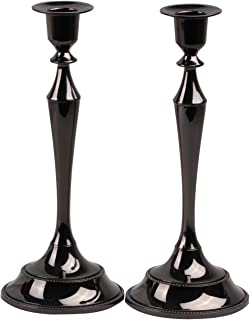 Best tall black taper candle holders Reviews