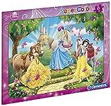 Clementoni - 22220.9 - Puzzle con Marco - 15 Habitaciones - Princesas Disney