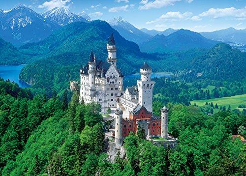2000ピース ジグソーパズル 白亜の城 ノイシュバンシュタイン―ドイツ 世界最小スーパースモールピース(38x53cm)