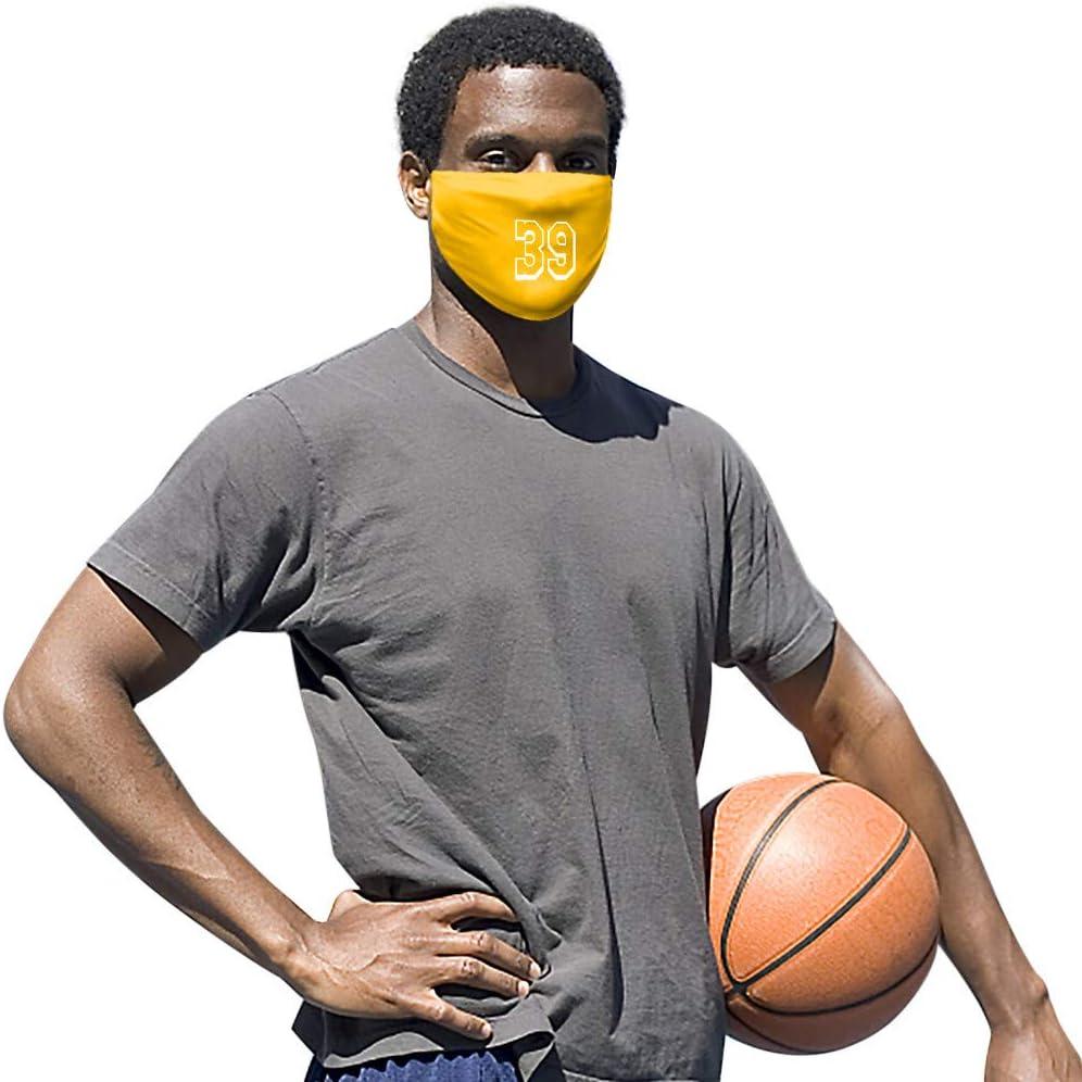 Basketball Stars Number Printed Reusable Cotton Bandana Inexpensive Washable Las Vegas Mall