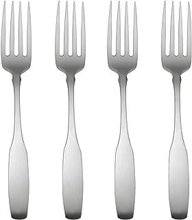Oneida Paul Revere Fine Flatware Set, 18/8 Stainless, Set of 4 Salad Forks