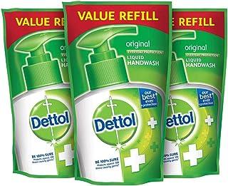 Dettol Original Germ Protection Handwash Liquid Soap Refill, 175ml, Pack of 3