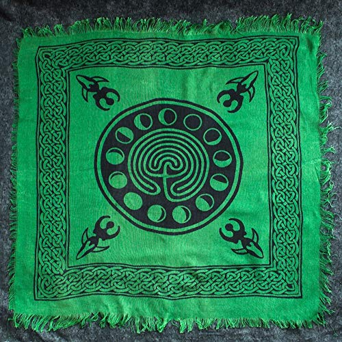 NEW Moon Phase Altar Cloth 18' X 18'