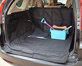 Dog Car Seat Cover Heavy Duty Non-Slip Waterproof With Seat Anchors For Cars Trucks And Suv (Black)
