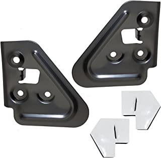 Pair of Flip-Up Manual Towing Mirror Mounting Bracket Kits Replacement for Dodge Pickup Truck 55075444 AutoAndArt
