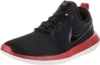 Men's Roshe Two Black/Black/Gym Red/White Running Shoe 11 Men US