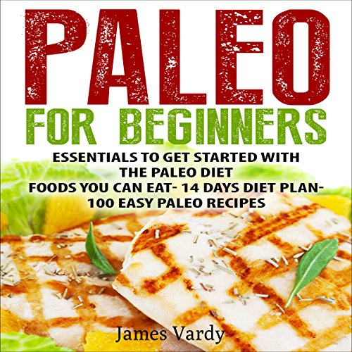 Paleo for Beginners audiobook cover art